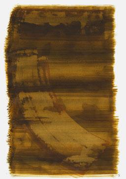 """""""Aufschrei 17:39 Uhr"""", 2016, 48 x 36cm"""