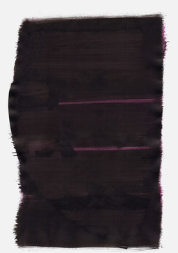 """""""Aufschrei 03:03 Uhr"""", 2016, 48 x 36cm"""