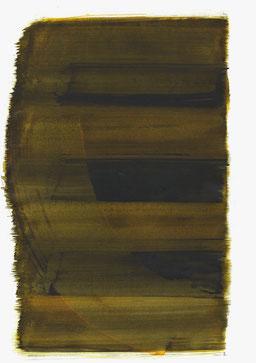 """""""Aufschrei 18:44 Uhr"""", 2017, 48 x 36cm"""