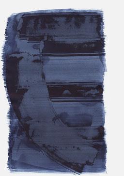 """""""Schrei 10:36 Uhr"""", 2017, 48 x 36cm"""