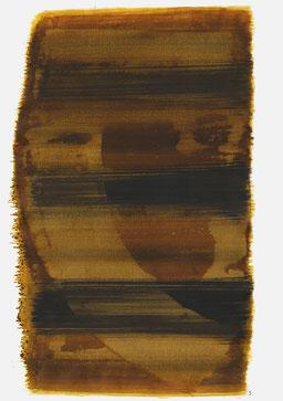 """""""Aufschrei 20:58 Uhr"""", 2015, 48 x 36cm"""
