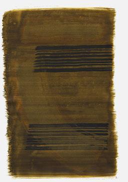 """""""Aufschrei 21:12 Uhr"""", 2016, 48 x 36cm"""