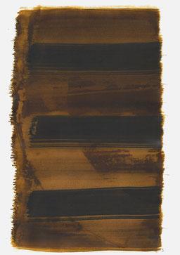 """""""Schrei 21:57 Uhr"""", 2016, 48 x 36cm"""