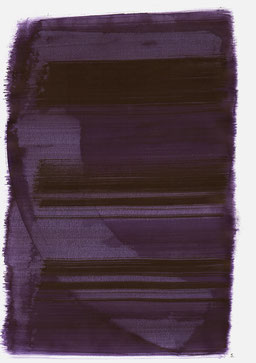 """""""Aufschrei 16:41 Uhr"""", 2015, 48 x 36cm"""