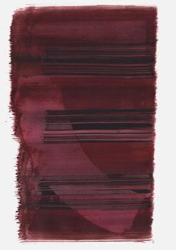 """""""Schrei 14:18 Uhr"""", 2016, 48 x 36cm"""