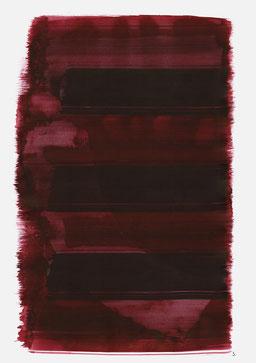 """""""Aufschrei 19:36 Uhr"""", 2015, 48 x 36cm"""