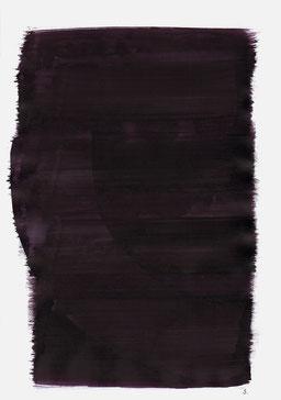 """""""Aufschrei 19:29 Uhr"""", 2015, 48 x 36cm"""