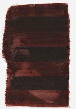 """""""Schrei 21:43 Uhr"""", 2016, 48 x 36cm"""