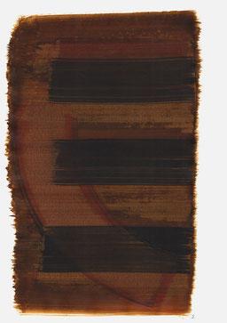 """""""Schrei 12:02 Uhr"""", 2016, 48 x 36cm"""