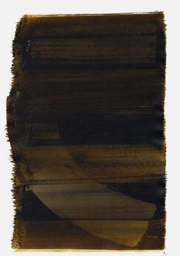 """""""Aufschrei 19:42 Uhr"""", 2015, 48 x 36cm"""