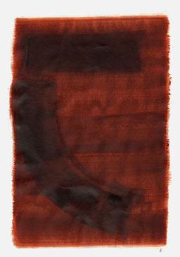 """""""Aufschrei 22:20 Uhr"""", 2015, 48 x 36cm"""