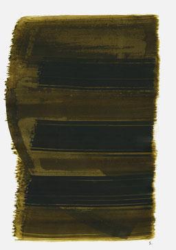 """""""Aufschrei 00:57 Uhr"""", 2015, 48 x 36cm"""