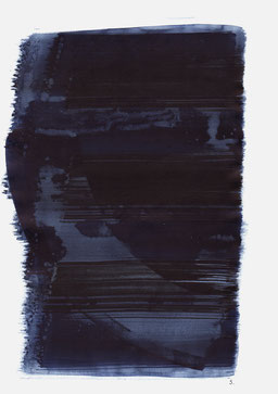 """""""Schrei 04:17 Uhr"""", 2015, 48 x 36cm"""