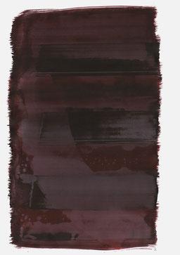 """""""Aufschrei 22:44 Uhr"""", 2017, 48 x 36cm"""