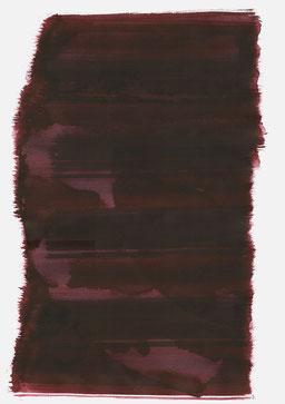 """""""Endloser Schrei 23:59 Uhr"""", 2017, 48 x 36cm"""