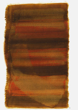 """""""Aufschrei 16:18 Uhr"""", 2015, 48 x 36cm"""
