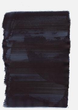 """""""Aufschrei 23:17 Uhr"""", 2015, 48 x 36cm"""