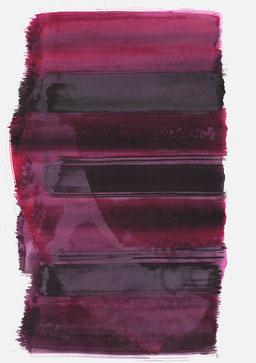 """""""Schrei 09:03 Uhr"""", 2017, 48 x 36cm"""
