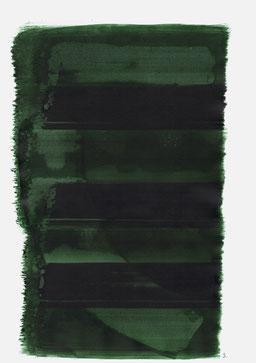 """""""Aufschrei 19:01 Uhr"""", 2015, 48 x 36cm"""