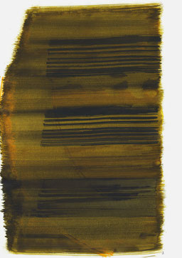 """""""Schrei 17:39 Uhr"""", 2017, 48 x 36cm"""