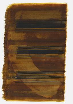 """""""Schrei 20:17 Uhr"""", 2016, 48 x 36cm"""