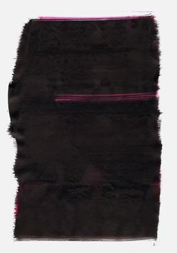 """""""Aufschrei 03:58 Uhr"""", 2015, 48 x 36cm"""
