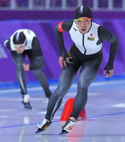 平昌オリンピックの紫色