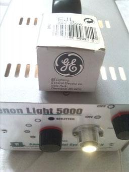 Lichtquelle Xenon Light 5000 + Ersatzbirne medizinischer Bedarf für Krankenhaus und Praxis