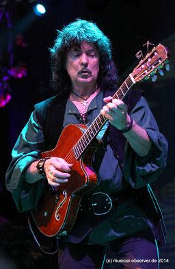 Unversöhnlich: Das Verhältnis zu Ex-Gitarrist Ritchie Blackmore ist im Eimer.