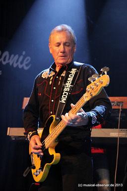 Von der Hall of Fame ignoriert: Ur-Bassist Nick Simper.