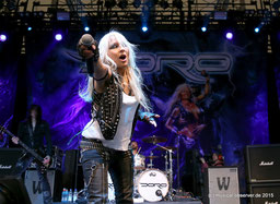 DORO, Deutschlands Metal Queen.