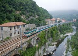 Tren en Isola del Cantone
