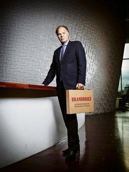 Jan de Laat, wethouder financiën van Gouda