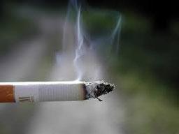 fumée nocive cigarette
