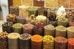 la grande diversité des épices