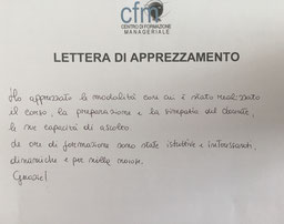 CFM_ Workshop_Team_Building_Lettera_apprezzamento_DB_CSV_Cosenza
