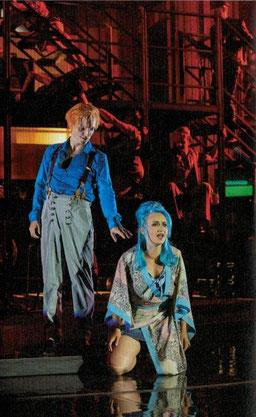 David Bowie Lazarus Luise Schubert als Elly in Leipzig Schauspielerin Sprecherin