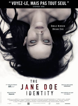 The Jane Doe Identity de André Ovredal - 2016 / Epouvante - Horreur