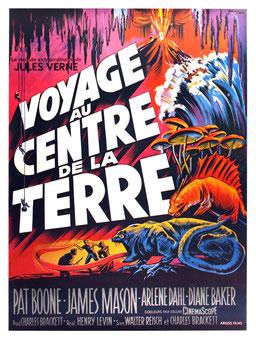 Voyage Au Centre De La Terre de Henry Levin - 1959 / Science-Fiction - Fantastique