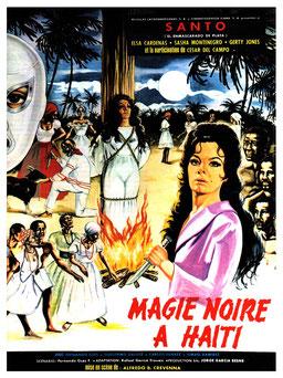 Magie Noire à Haïti de Alfred B. Crevenna - 1973 / Horreur