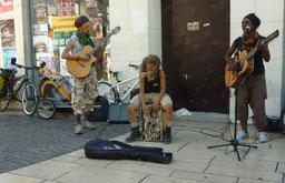 musiciens quelque part dans la région  foto A GEBERT