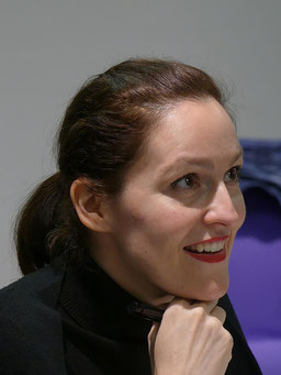 Daniela Larcher lächelt.
