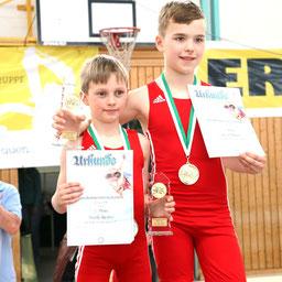 Gold für Hauke und Ricco - Klasse Jungs