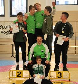 durchaus zufrieden konnten unsere Sportler mit den Leistungen sein
