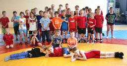 insgesamt 41 Sportler nahmen die Einladung des RC Cottbus an