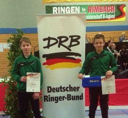 Jarod und Marius zeigten starke Leistungen
