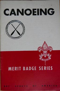 VAN B. CLAUSSEN, Canoeing, éd. Boy Scouts of America, 1939 (la Bibli du Canoe)