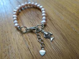 #bracelet#girl#pearl#pendant#fish#silver#
