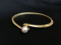 #bracelet#peral#plated#gold#tinarts#art#bangkok