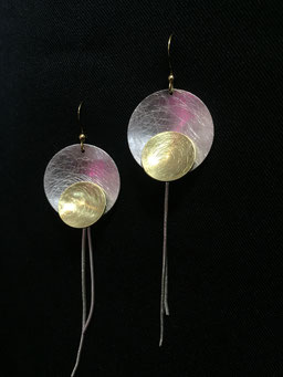 #earrings#brass#iron#silvergoldplated#tinarts